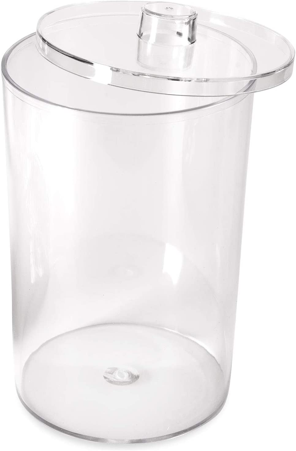 MABIS Decorative Storage Apothecary ClearJar for Kitchen, Bathroom or Laundry Organization withLid, 41 x 42 x 7 inches