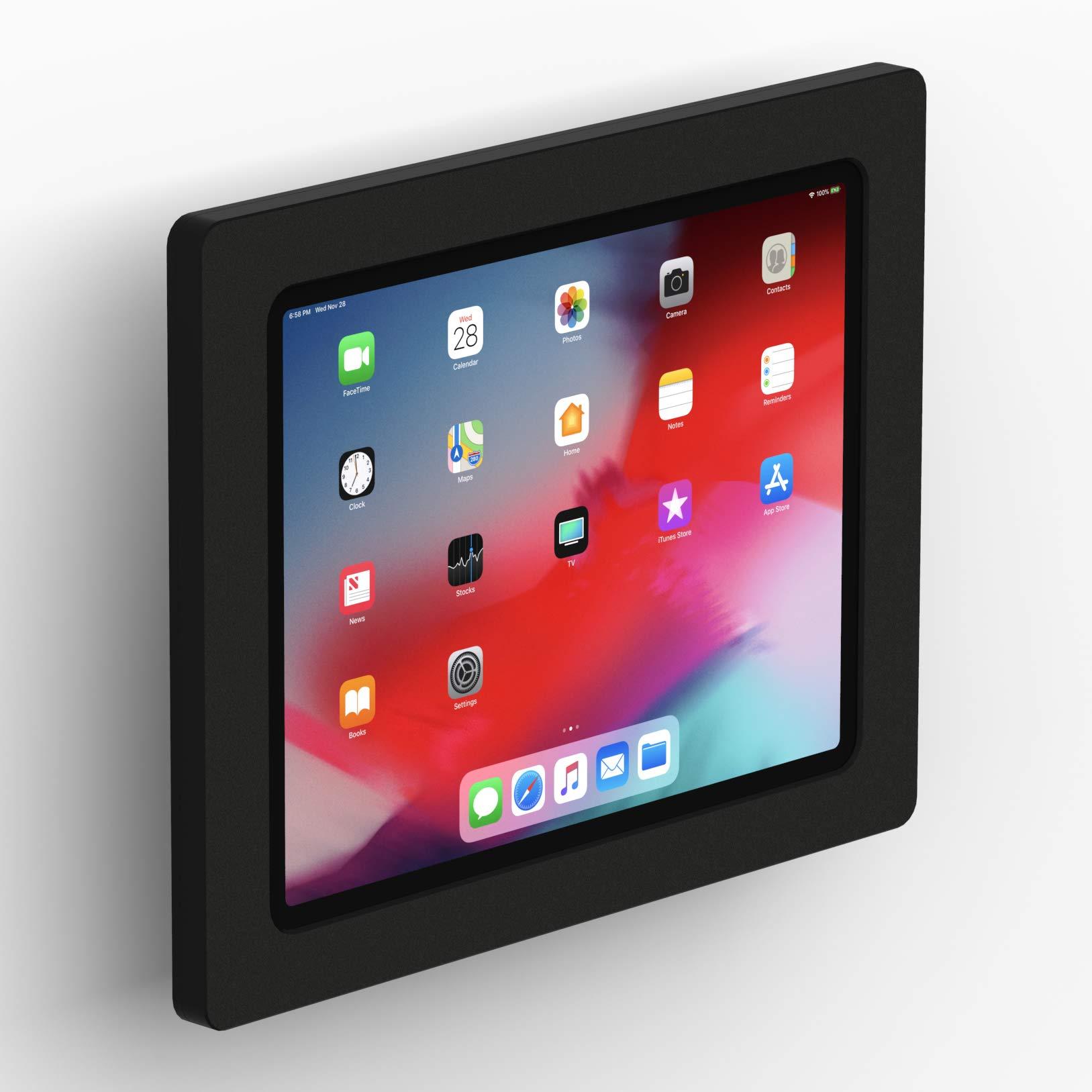VidaMount Black Enclosure and Tilting VESA Slim Wall Mount [Bundle] Compatible with iPad Pro 12.9'' (3rd Gen) by VidaBox Kiosks (Image #1)