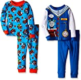 Thomas The Train Little Boys' Time to Conduct 4-Piece Pajama Set
