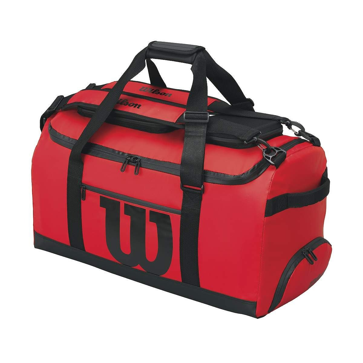 2016 Wilson Tennis Performance Travel Tech Duffle Bag Red by Wilson