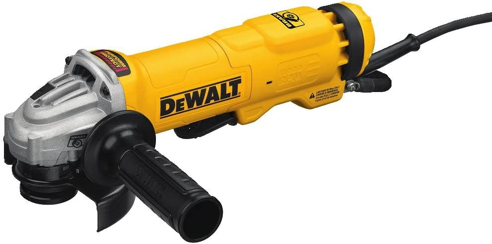 DEWALT Angle Grinder Tool, 4-1/2-Inch, Paddle Switch with Brake and No Lock-On (DWE4222N)