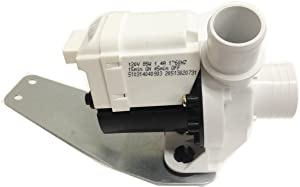 Global Products Washer Drain Pump Compatible General Electric Hotpoint RCA 143B9643P001 AP5803461 PS271333 EAP271333 PD00001005
