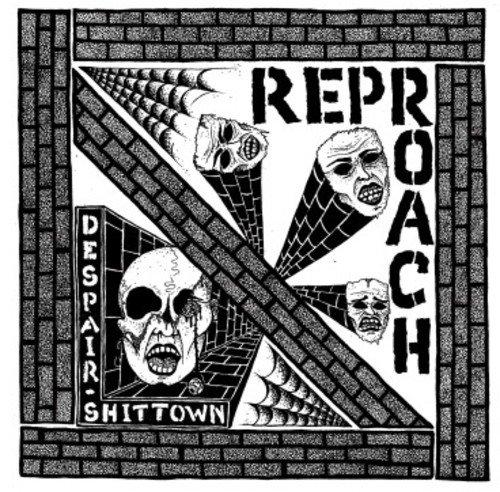 Vinilo : Reproach - Despair / Shittown (7 Inch Single)