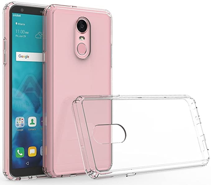 reputable site 37045 d4df0 LG Stylo 4 Case, LG Q Stylus Case, LG Stylo 4 Plus Case, Yiakeng Wallet  Slim Glitter Silicone Crystal Phone Cases Full Cover for G Stylo 4 (Clear)