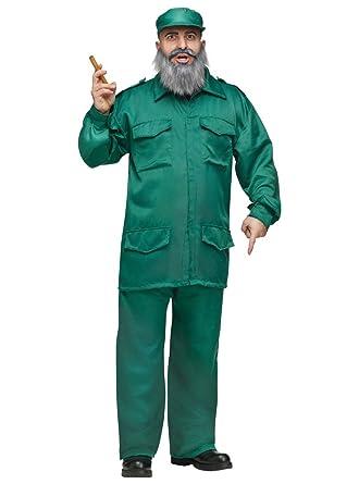 Disfraz de Fidel cubano - Estándar: Amazon.es: Ropa y accesorios