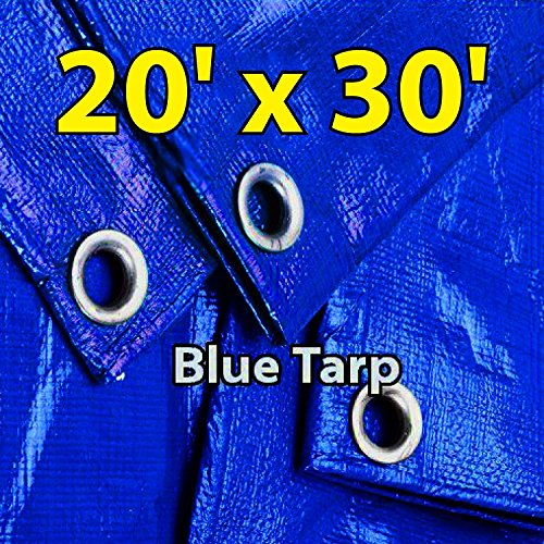 Super Blue Tarp - 4
