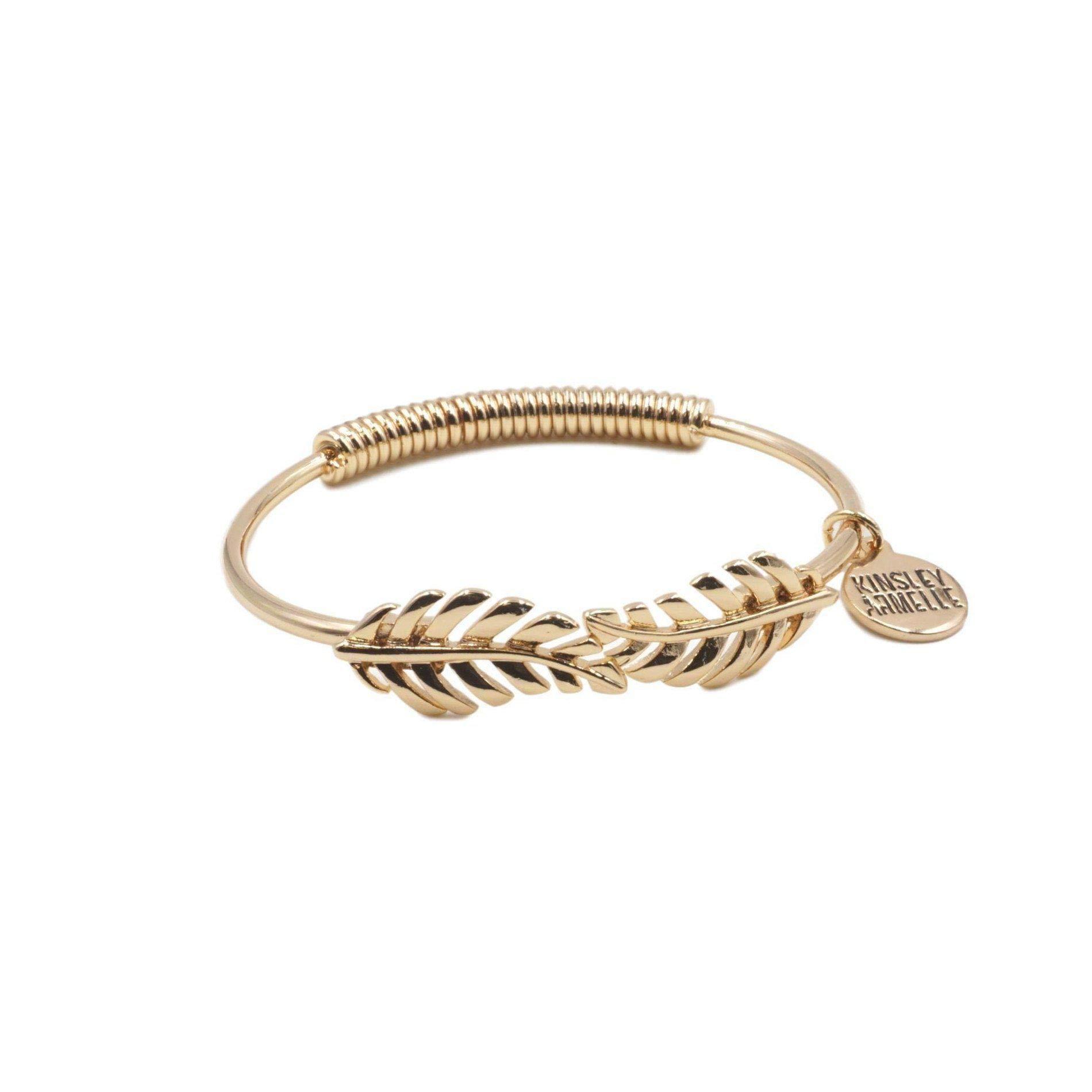 Kinsley Armelle Goddess Collection - Laurel Leaf Bracelet