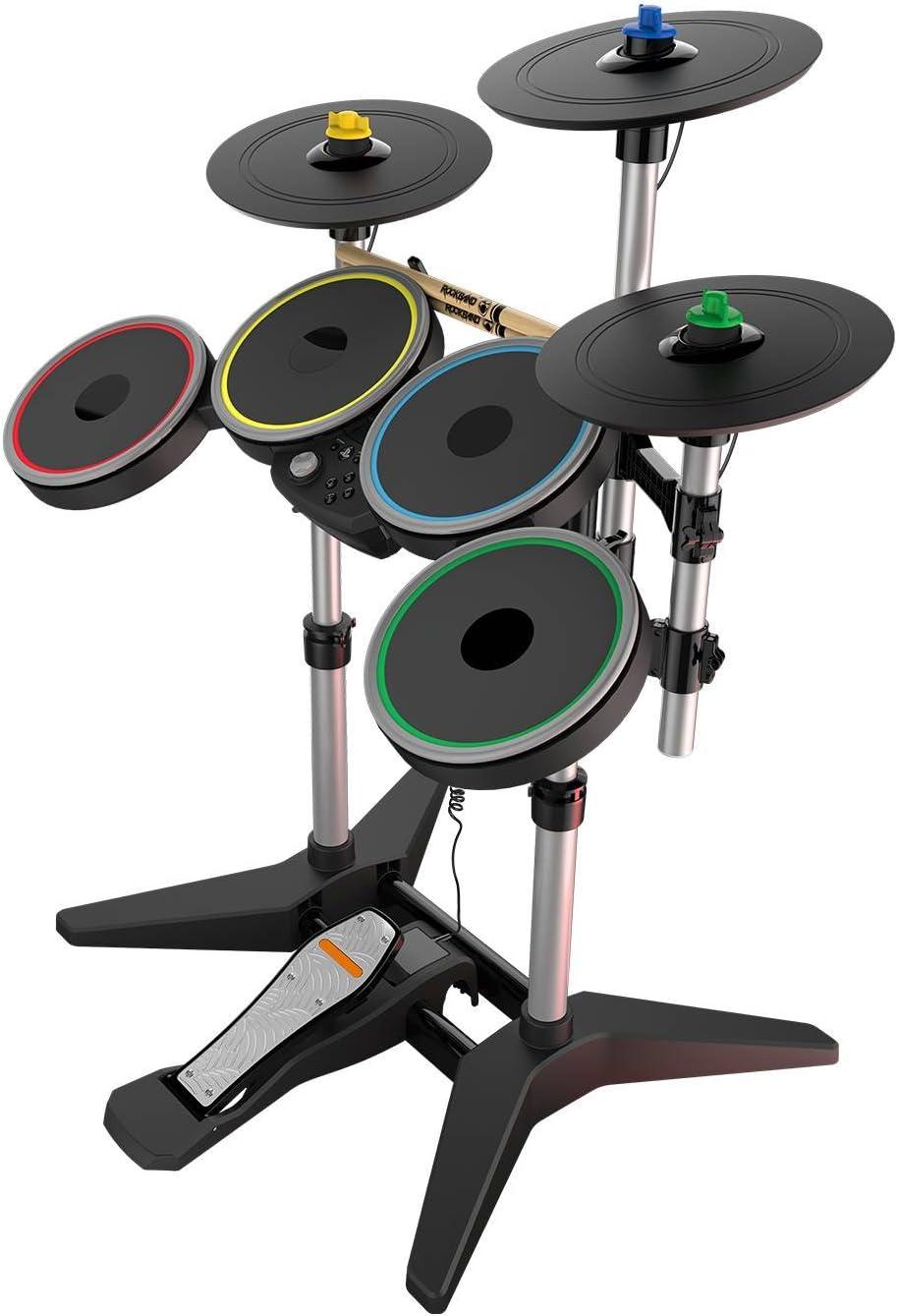 Amazon com: Rock Band 4 Wireless Pro-Drum Kit for