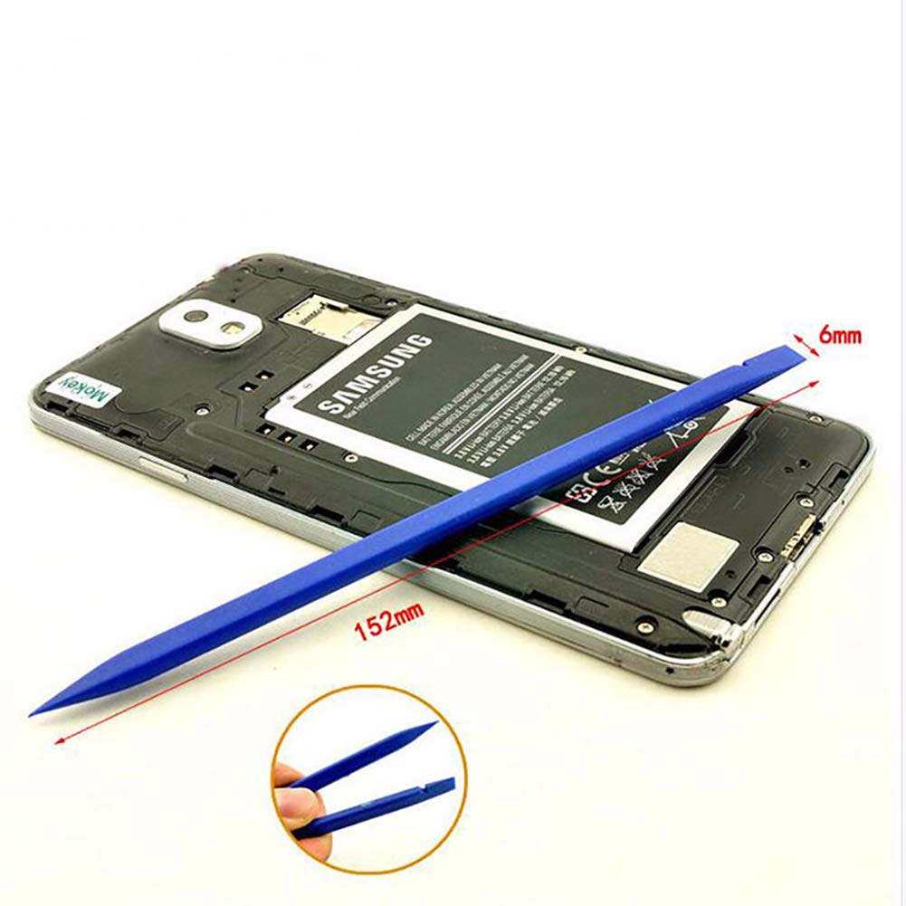 10/pcs Plastique spudgers antistatique t/él/éphone portable Pied de biche Tablette iPad ordinateur portable r/éparation Pry outils de b/âton de barres noir