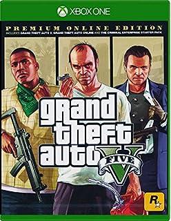 Grand Theft Auto V Gta  Premium Online Edition Xbox One