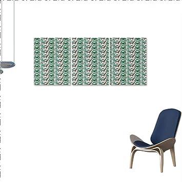 Amazon.com: Juego de lienzo para pared de jirafa, diseño de ...