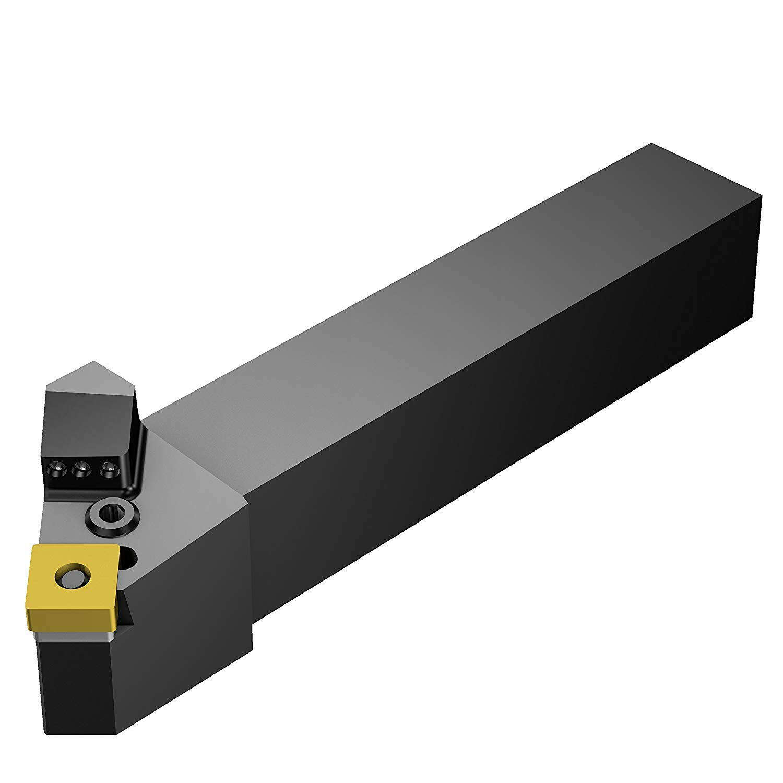 Steel Left Hand 4.5 Length x 1 Width 3//4 Width x 3//4 Height Shank SNMG 432 Insert Size Sandvik Coromant PSSNL 12 4BHP High Pressure Coolant Turning Insert Holder External Square Shank Lever Lock