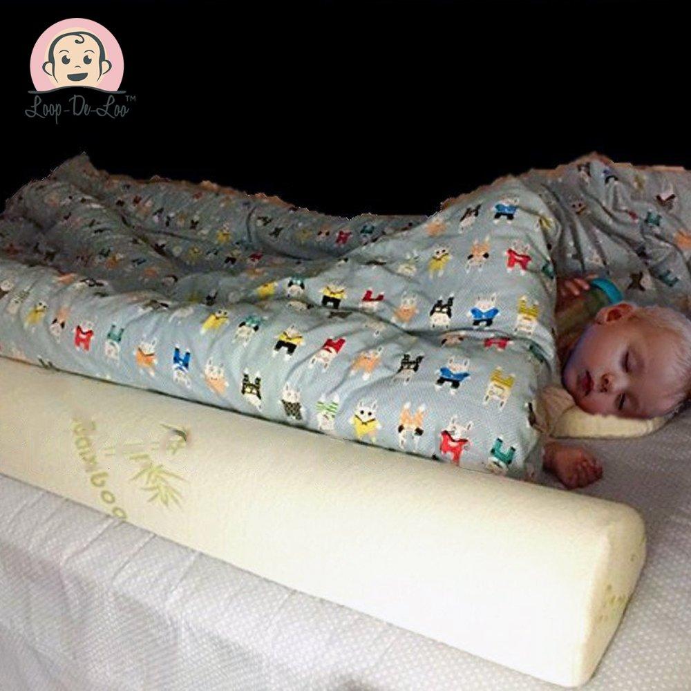 [2-Pack] Loop-De-Loo Brand™ Bamboo Toddler Sleep Bed Rail Safety Bumper Loop-De-LooTech