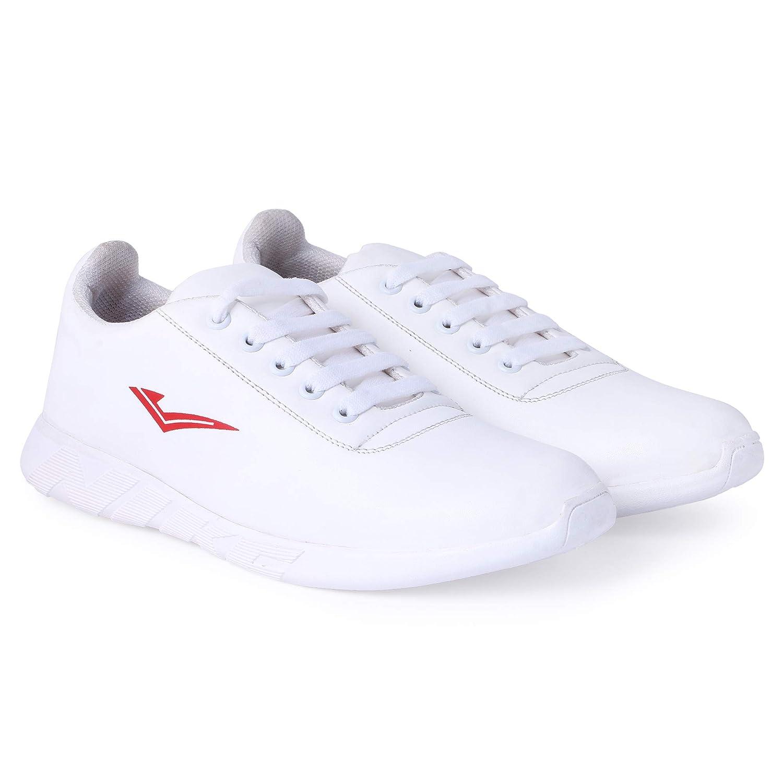 Buy TTS Men's White Color Casual Shoes