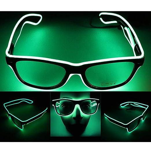 UGUAX - Gafas LED mágicas de neón para Fiesta de cumpleaños ...