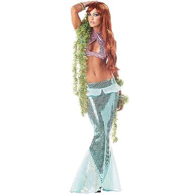 mesmerizing mermaid halloween costume for cute adult sexy ladies womens