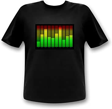 10 Channel LED Equalizer T-shirt (xl): Amazon.es: Deportes y aire libre