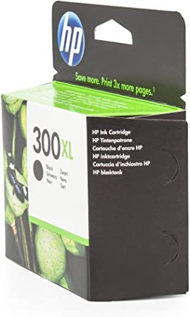 Cartucho de tinta Original HP DeskJet F 4224 - CC641EE CC641EE , CC641EEABB , CC641EEABD , CC641EEABE , CC641EEABFNr 300 - 300XL , NO300XL , Nr 300 - negro - Original Páginas: Amazon.es: Oficina y papelería