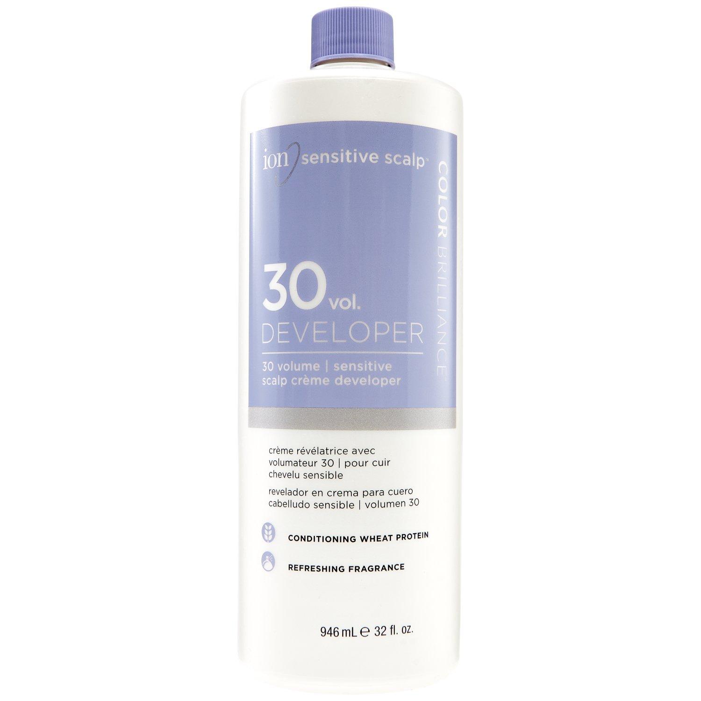 Ion Sensitive Scalp 30 Volume Creme Developer 32 oz. ION HAIRCOLOR