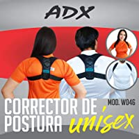 ADX Corrector de Postura Unisex Color Negro