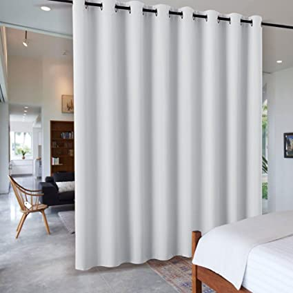 Amazoncom RYB HOME White Separation Room Divider Partition Heavy