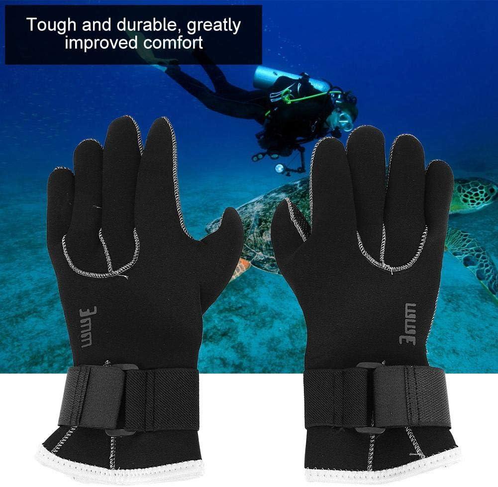VGEBY1 Tauchhandschuhe 5 Finger Warme Schwimmhandschuhe Tauchzubeh/ör f/ür Schnorcheln Kajakfahren Tauchen Surfen