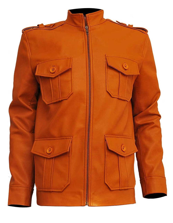 Clark Chester Camel Vintage Leather Jacket