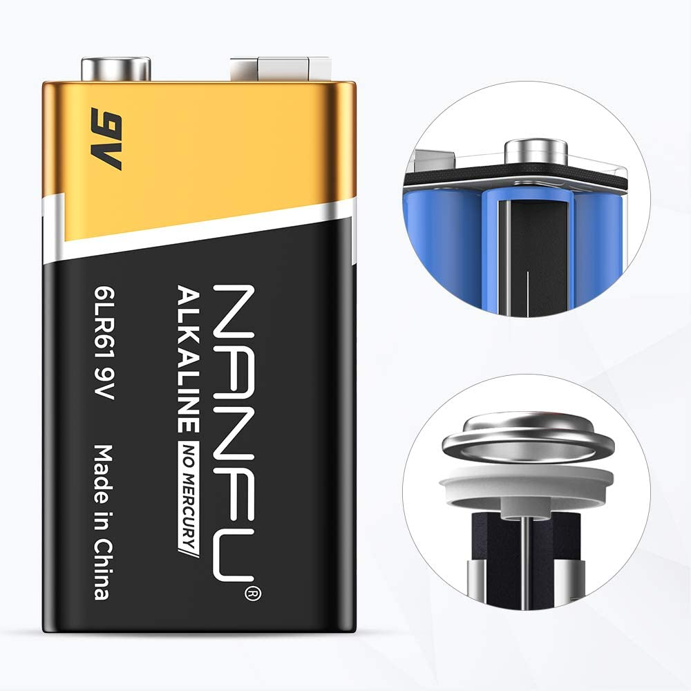 NANFU High Performance AAA Alkaline Batteries (20 Count), Ultra Power, Long Lasting for Household Devices …: Electronics