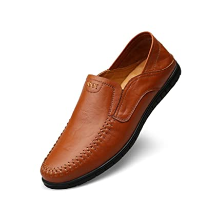 6c80c16f9ae2 Image Unavailable. Image not available for. Color  CJC Shoes Mens Leather PU  All Seasons Soft Casual Suitable Wedding Business ...