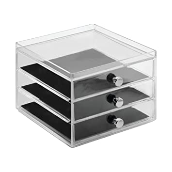 Amazoncom InterDesign Clarity Fashion Jewelry Organizer for Rings