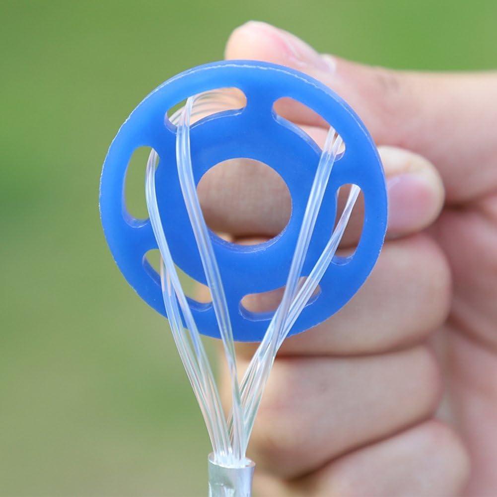 GOTOTOP Hand werfen Fischernetz,Outdoor Nylon Monofilament werfen Angeln Mesh Net