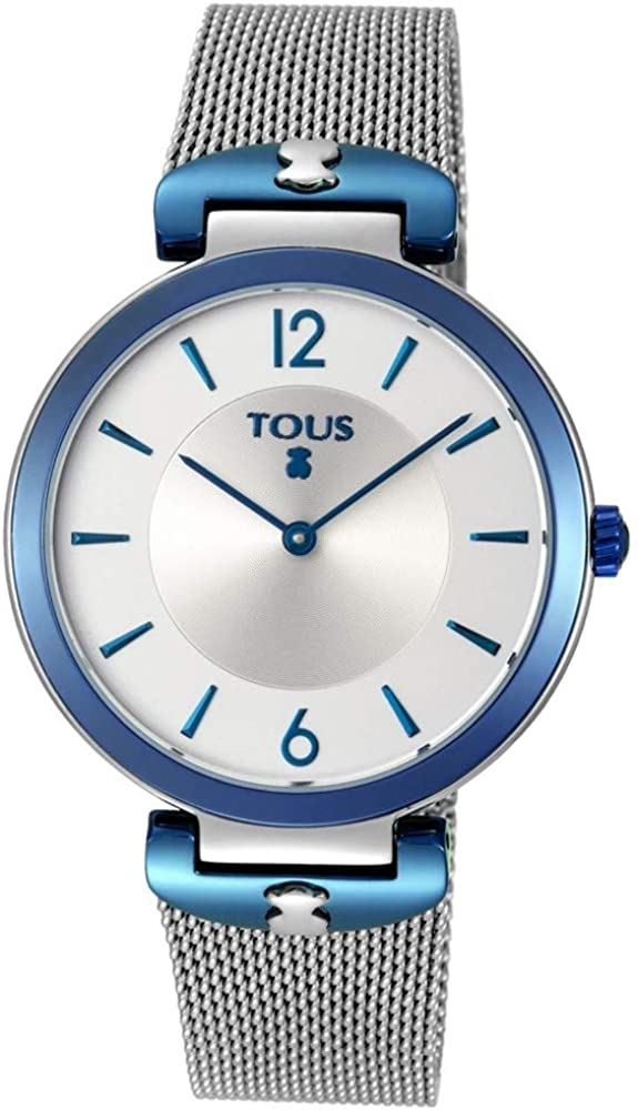 TOUS Reloj S-Mesh de Acero Diámetro Caja: 37 mm.