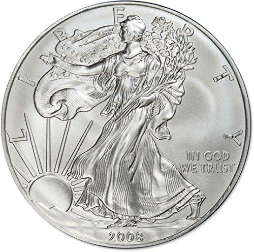 2008 American Silver Eagle $1 US Mint Brilliant Uncirculated