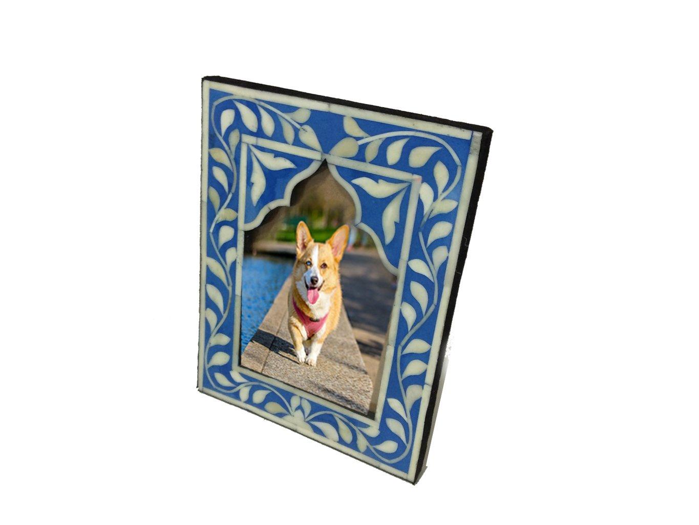Fair Deal Handmade Prime Quality Bone Inlay Photo Frame For Valentine's, Birthdays, Christmas, Holidays † Mother's Day Gift † by Fair Deal