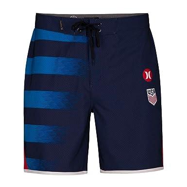 809e6267ba Hurley AJ6984 Men's Phantom USA Away National Team Board Short, Midnight  Navy - 28