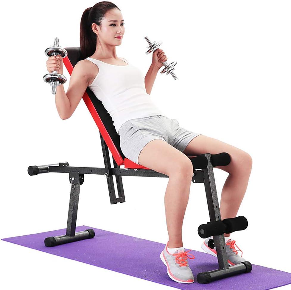 klappbare Training Fitness Bank Multi-Funktion Fitnessbank verstellbare Trainingsbank Fitness Stuhl Sit-Up Board YIFAA Hantelbank Heimfitnessger/äte Hantelbank Bauchtrainer