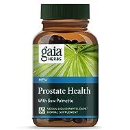 Gaia Herbs Prostate Health, 60-capsule Bottle