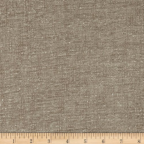 Crypton Home Benton Chenille-Faced Pewter Fabric by The Yard (Fabric Pewter)