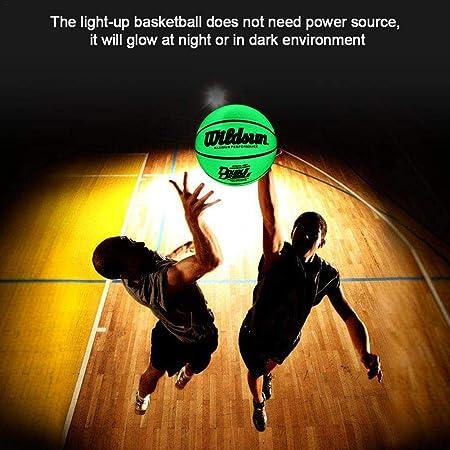 yingmu Baloncesto Iluminado sin batería Brillo en la Oscuridad ...