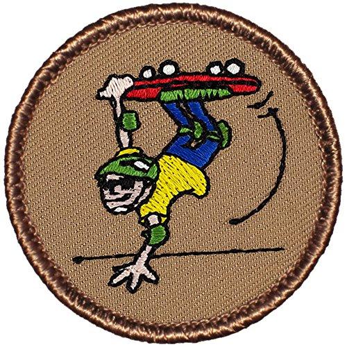 Skateboard Patrol Patch - 2