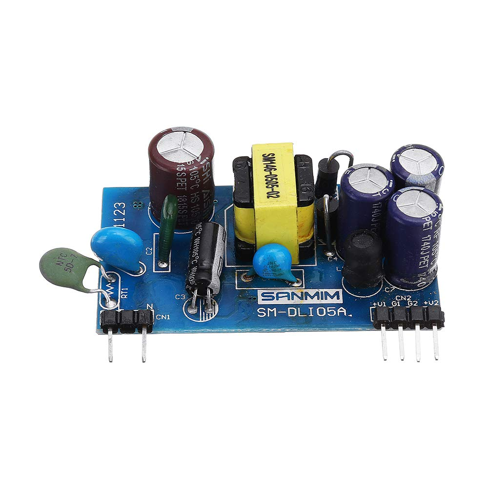 AC 220V to DC 5V 500mA Power Supply Dual Output Switch AC to DC Power Supply Module