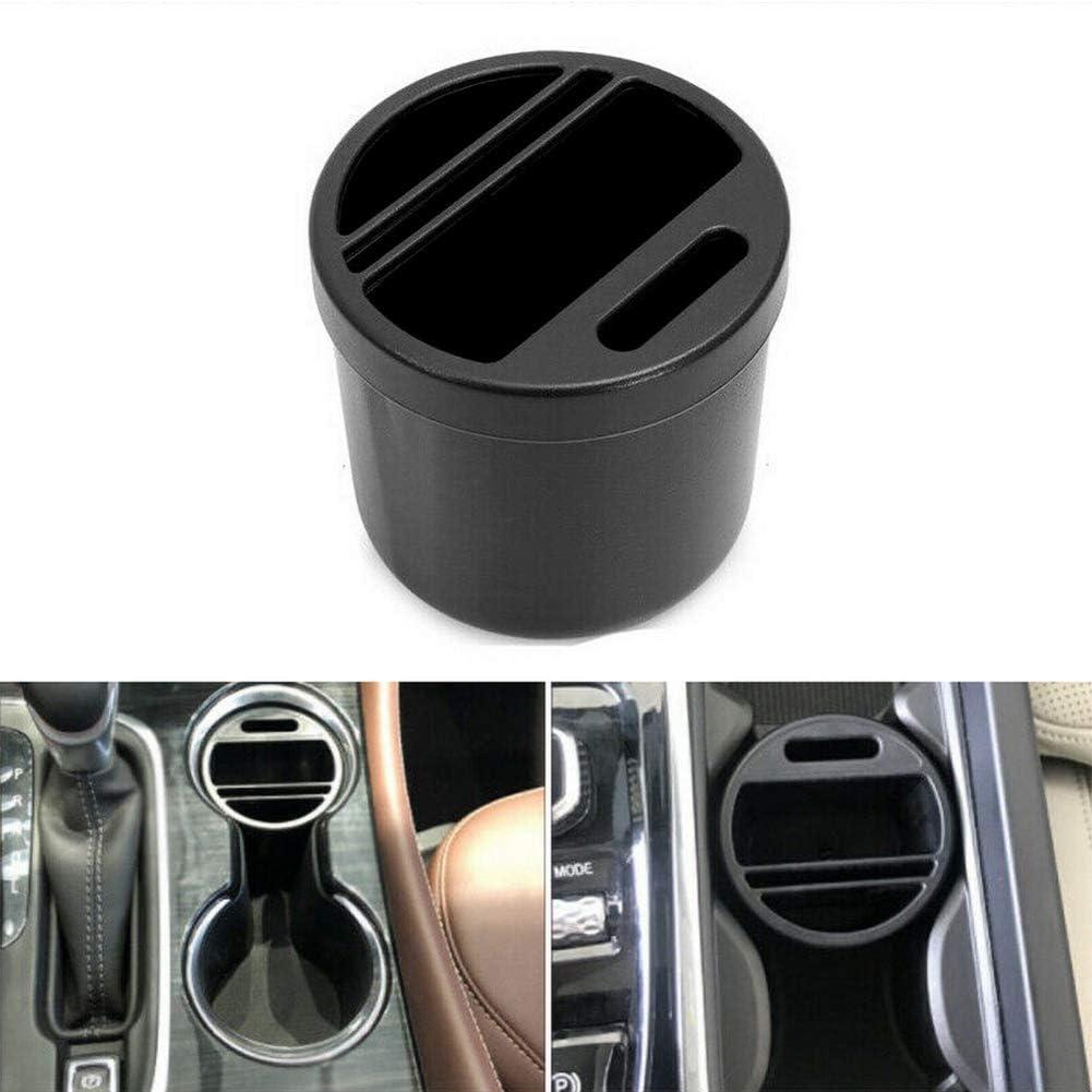 Jevogh Pattumiera per Auto GR28 Mini Auto Pattumiera Posacenere per Auto Contenitori per rifiuti Contenitori per Tessere con gettoniera Coppa per Auto Interni//Ufficio//Casa