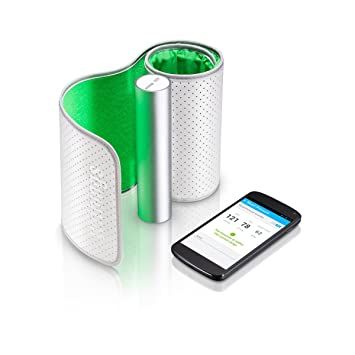 Withings BP-801 - Tensiómetro (AAA alkaline (LR3), 14 cm,