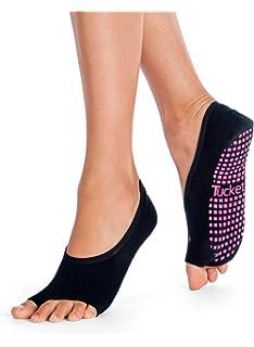 Calcetines Yoga Pilates Antideslizante Deporte Mujer ...