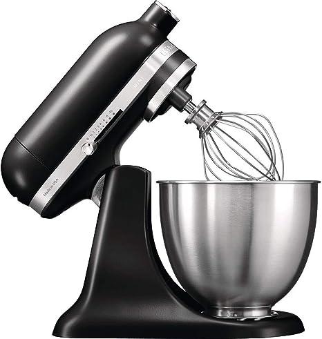 KitchenAid 5KSM3311XEAC 5KSM3311XEAC-Robot de cocina (3,3 l), 250 W, Acero inoxidable, Crema de color: Amazon.es: Hogar