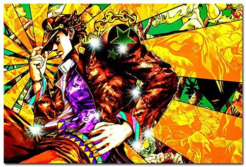 Tomorrow sunny JOJO bizarre Adventure Anime Art Silk Poster 24x36 inch 002