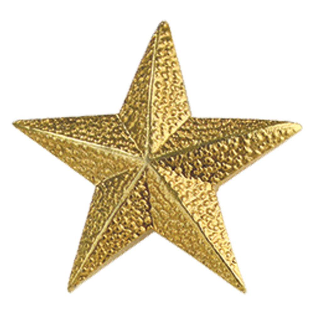 Set of 100 Lapel Pins - Gold Star Pins
