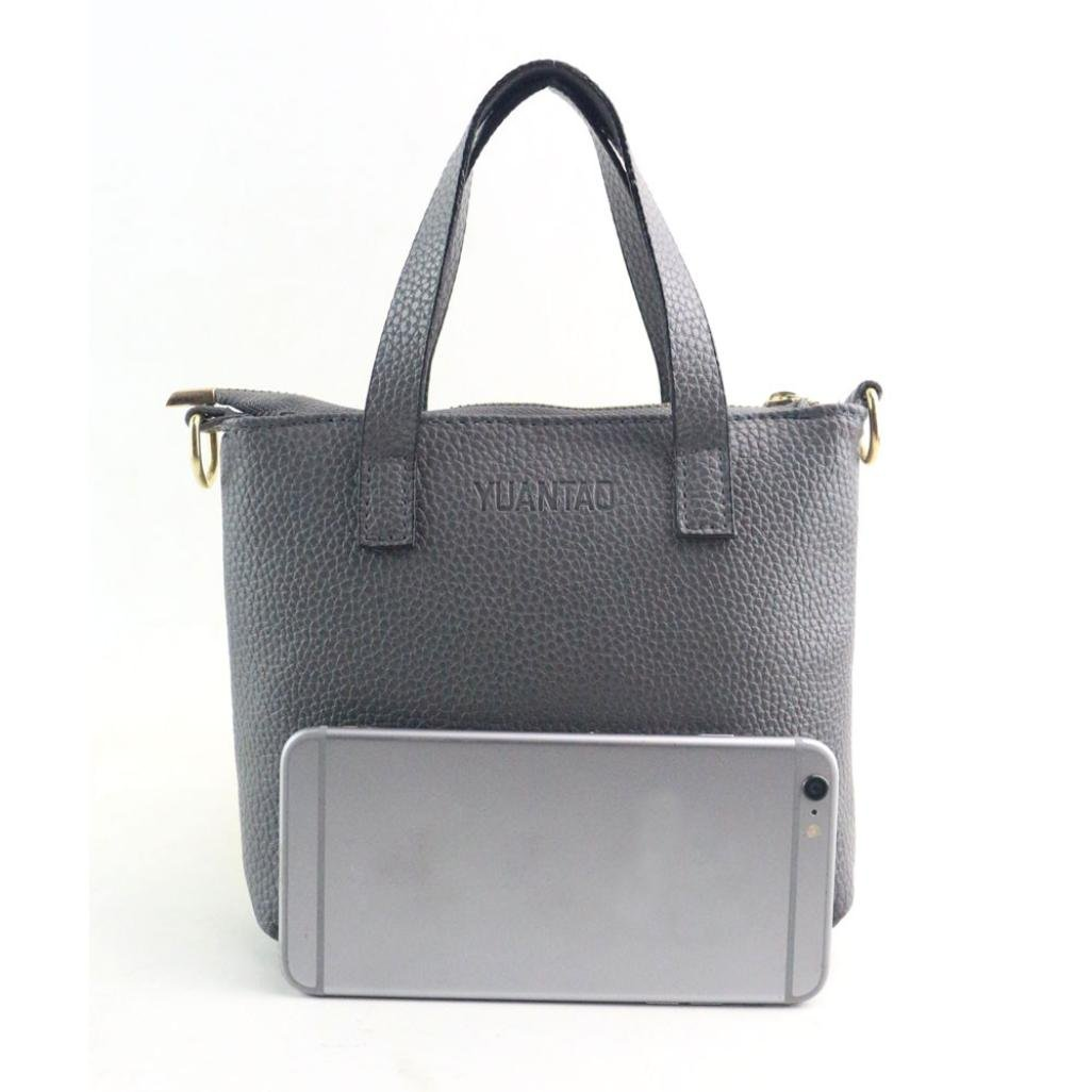 0040d2030a678 Damen Shopper Goosuny Mini Mode Handtasche Schwarz Schultertasche Umhängetasche  Frauen Günstig Groß Geldbörse Ledertasche Lederhandtaschen Für Hochzeit ...