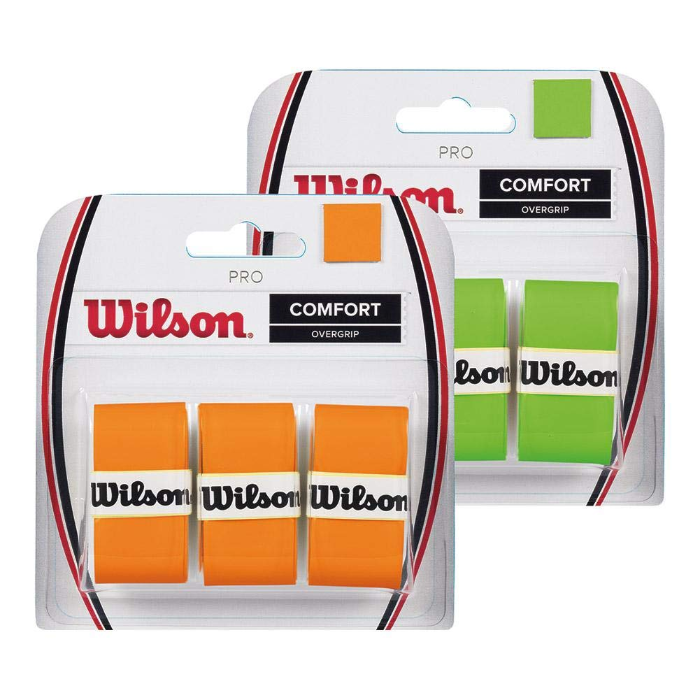 Amazon.com : Wilson Pro Tennis Racquet Over Grip, Pack of 3 : Sports & Outdoors
