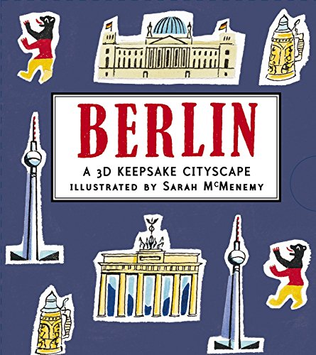 Berlin: A 3D Keepsake Cityscape (Panorama Pops)